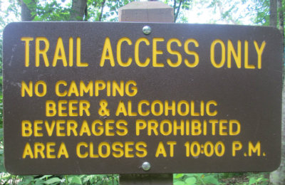 Trail_access_only_sign_Greenbrier-River-Trail-WV-06_21-24-2015