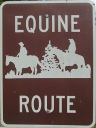 Equine-route-sign-Longleaf-Trace-MS-2015-06-11