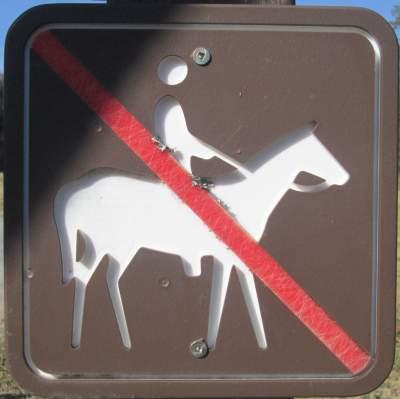 No-horse-sign-Blackwater-Rail-Trail-FL-02-16-2016