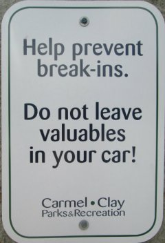 Help-prevent-break-ins-sign-Monon-Trail-IL-2015-08-23