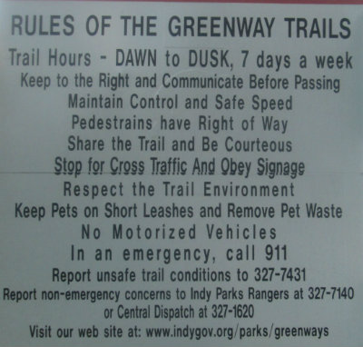 Rules-of-the-greenway-trails-sign-Monon-Trail-IL-2015-08-23