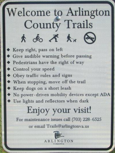 Arlington-County-trails-rules-sign-W&OD-Rail-Trail-VA-2015-10-6&7