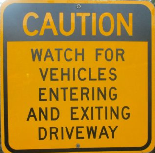 Caution-watch-for-vehicles-entering-and-existing-driveway-sign-W&OD-Rail-Trail-VA-2015-10-6&7