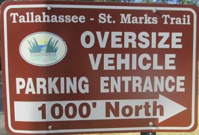 Parking-sign-Tallahassee-St-Marks-Rail-Trail-FL-2016-01-22-pix