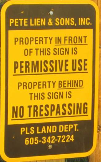 Permissive-use-sign-Mickelson-Trail-SD-5-28-to-6-1-2016