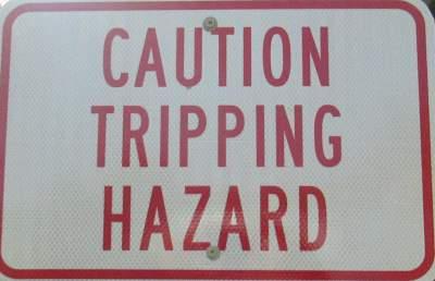 Tripping-hazard-sign-Kingsport-Greenbelt-TN-11-2-2016