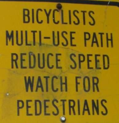 Reduce-speed-sign-Springwater-Corridor-Portland-OR-4-25-2016