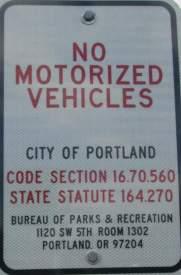 No-motorized-vehicles-sign-Springwater-Corridor-Portland-OR-4-25-2016