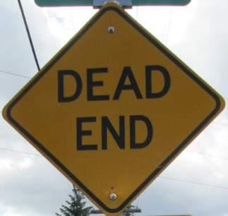 Dead-end-sign-Springwater-Corridor-Portland-OR-4-25-2016