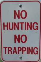 No-hunting-sign-Union-Pacific-Rail-Trail-Park-City-to-Echo-UT-5-1-2016