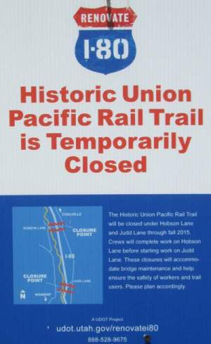 Temp-closed-sign-Union-Pacific-Rail-Trail-Park-City-to-Echo-UT-5-1-2016