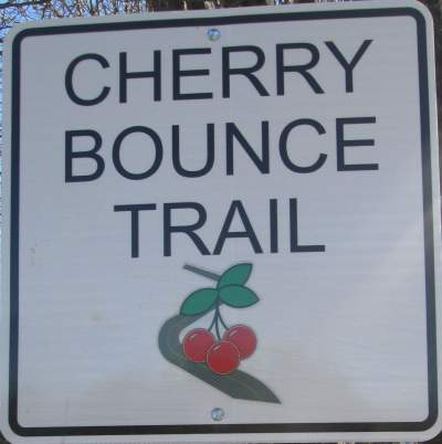 Cherry-Bounce-Trail-sign-Belt-Rail-Trail-NC-2-17-17