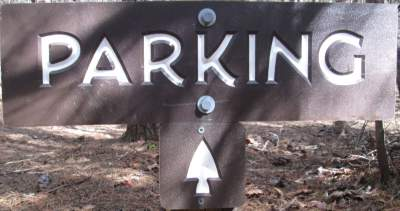 Parking-sign-Lake-James-State-Park-mtn-bike-trail-NC-2-20-2017