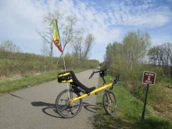 Jim-Schmid's-Bacchetta-Giro-recumbent-RP-15-Paul-Bunyan-Trail-MN-5-14-17