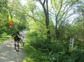 Jim-Schmid's-Bacchetta-Giro-recumbent-MP-396-Wabash-Trail-IA-5-16-17