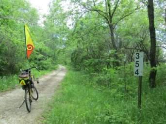 Jim-Schmid's-Bacchetta-Giro-recumbent-MP-354-Wabash-Trail-IA-5-18-17