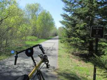 Jim-Schmid's-Bacchetta-Giro-recumbent-RP-2-Paul-Bunyan-Trail-MN-5-13-17