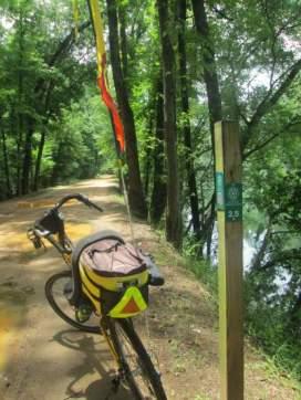 Jim-Schmid's-Bacchetta-Giro-recumbent-Tow-Path-Augusta-Canal-GA-6-21-17