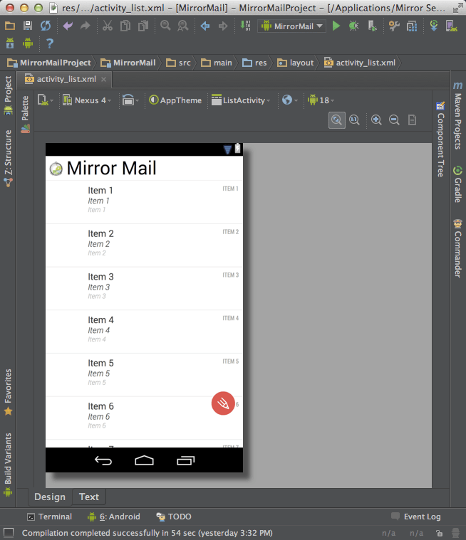 Menu Xml Android Studio