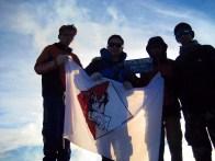 BLCK Kiking Team di puncak kerinci