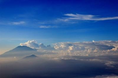 awan menuju merbabu