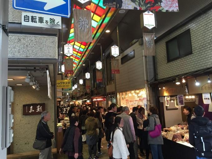 JR京都錦市場混雑2