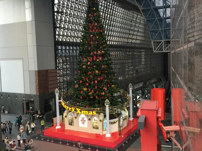 京都駅メリークリスマース