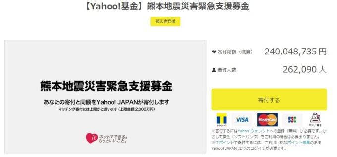 Yahoo!基金 熊本