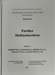 Gilgit Manuscripts in the National Archives of India, Facsimile Edition. Volume II.4: Further Mahāyānasūtras