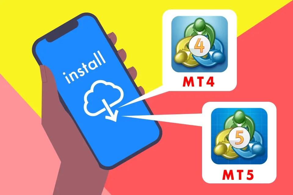MT4 MT5アプリの図