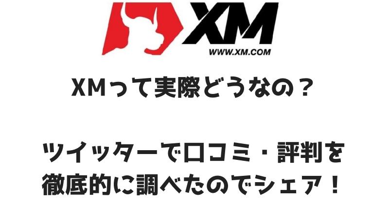 XMって実際どうなの?使える? ツイッターで口コミ・評判を徹底的に調べたのでシェア!