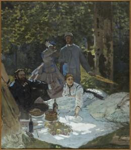 08. Claude Monet_Le déjeuner sur l'herbe_1865