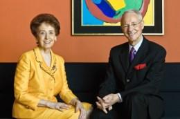 미술 컬렉터 칼하인츠와 아그네스 에슬 부부 Photo: Frank Garzarolli © Sammlung Essl Privatstiftung, 2009.