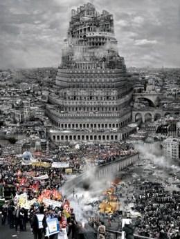 Du Zhenjun. Babel World - An exhibition at the ZKM | Media Museum. Europa, C-Print, 2010, 180x240cm © Du Zhenjun.
