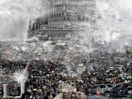 Du Zhenjun. Babel World - An exhibition at the ZKM | Media Museum Walls, C-Print, 2011 variable dimension, 160x120cm, 240x280cm © Du Zhenjun