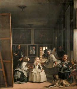 Diego Rodríguez de Silva y Velázquez, Las Meninas, or The Family of Felipe IV, Ca. 1656, Oil on Canvas, 318 cm x 276 cm. © Museo Nacional del Prado.