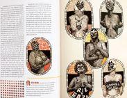 Interiores del N. 120. Impresión de grabados de Irving Herrera (Imgrum).