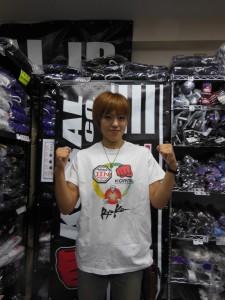 富松恵美選手