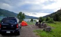Camping in Grand Teton NP