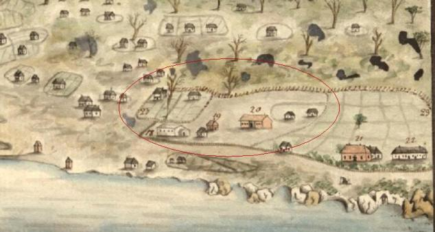 582 A View of Sydney Cove—Port Jackson 7 March 1792