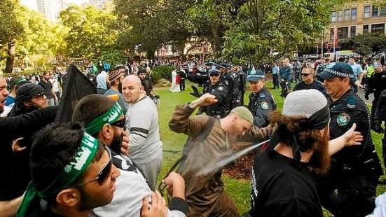เหตุการณ์ประท้วงที่ Hyde Park