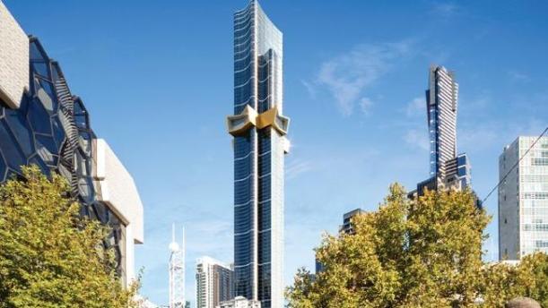 อาคาร Australia 108 ตามจินตนาการของสถาปนิกผู้ออกแบบ