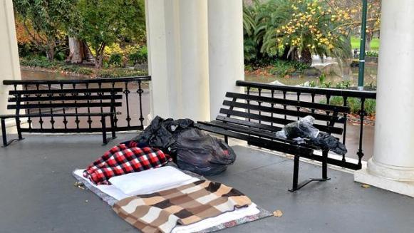 Rotunda ที่นาย Miller ใช้หลับนอนในค้างคืนก่อนเกิดเหตุในตอนเช้า