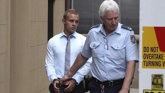 นาย Kieran Loveridge หลังถูกตัดสินจำคุกในปี 2013