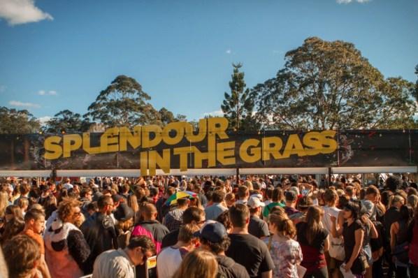 งานแสดงเทศกาลดนตรี Splendor in the Grass