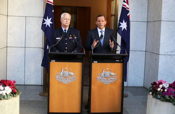 ผู้นำออสเตรเลียประกาศร่วมกับนานาชาติต่อสู้กลุ่มรัฐอิสลามในอิรัก