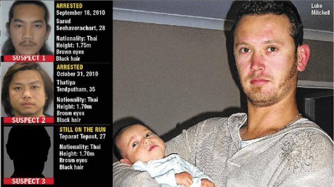 นาย Luke Mitchell ผู้เสียชีวิตและผู้ต้องหาทั้งสาม เมื่อประมาณ 5 ปีที่แล้ว (ขออภัยไม่ทราบเจ้าของต้นฉบับ)