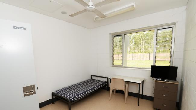 ห้องนอนนักโทษอยู่สบายเหมือนอยู่บ้านไม่ใช่คุก : ภาพชั่วคราวจากนสพ. NT News