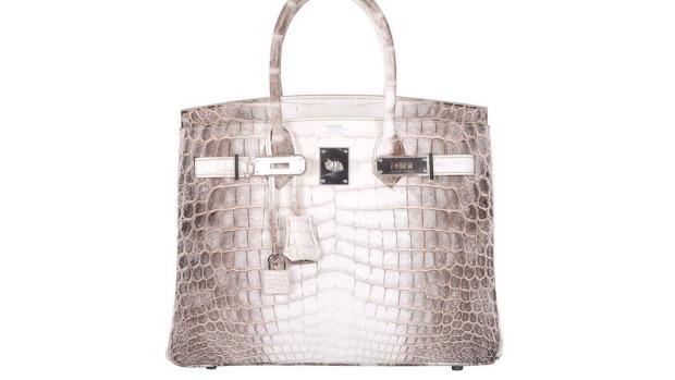 กระเป๋า Hermes Birkin รุ่น Himalaya อย่างที่น.ส. Christine Lee ซื้อในราคา 150,000 เหรียญ