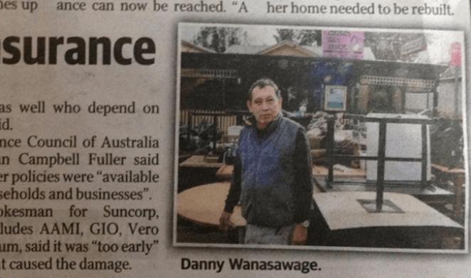 นาย Danny Wanasawage ในหนังสือพิมพ์ the Telegraph ฉบับ 9 มิ.ย. 2016